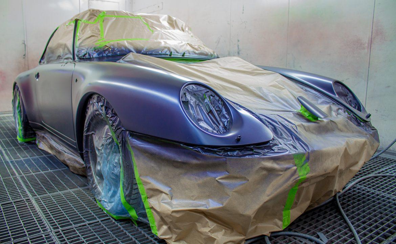 Comment préparer une voiture avant de la peindre